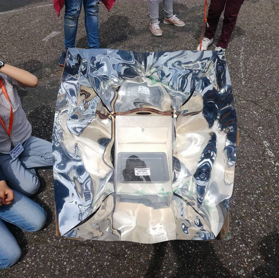 Microbit Solar Oven - Connected version